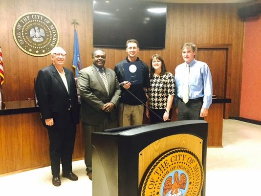Neville HS Football Proclamation--12-09-15--State Championship