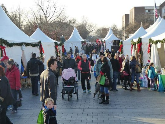 The 2015 Winter Markt in downtown Birmingham drew record crowds.