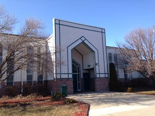 Police say a man entered the mosque dressed as a Muslim woman.