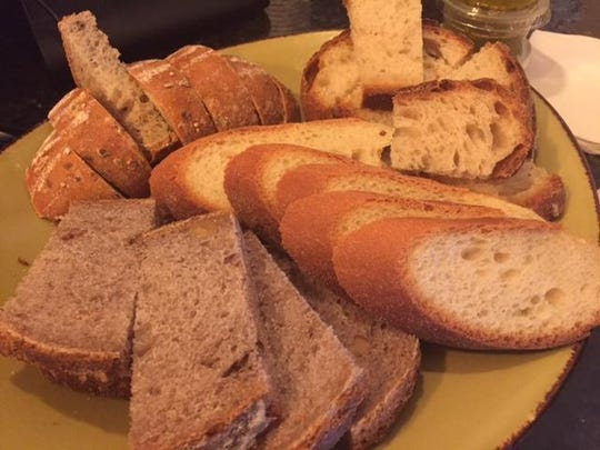 A variety of bread was available for customers to sample on Jan. 6 at Market Street Bread + Bagel, a new downtown Wilmington bakery.