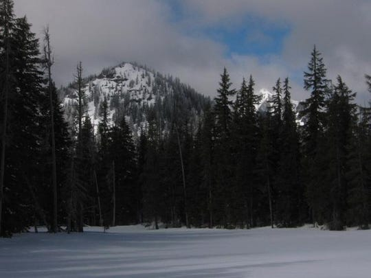 Fawn Lake is seen in winter.