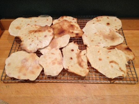 Homemade Matzo is easy to fix for Jewish Seder supper.