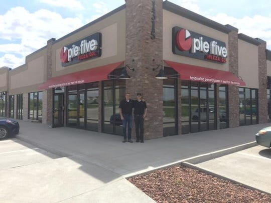 Pie Five offers five different crusts, fresh toppings and homemade sauce at its location in Ankeny.