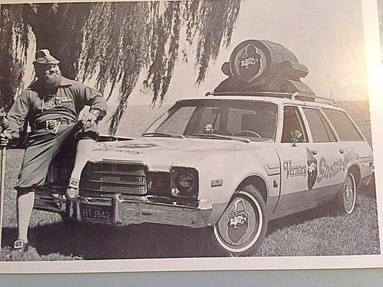 Ron Bialecki drove a gnome-mobile.