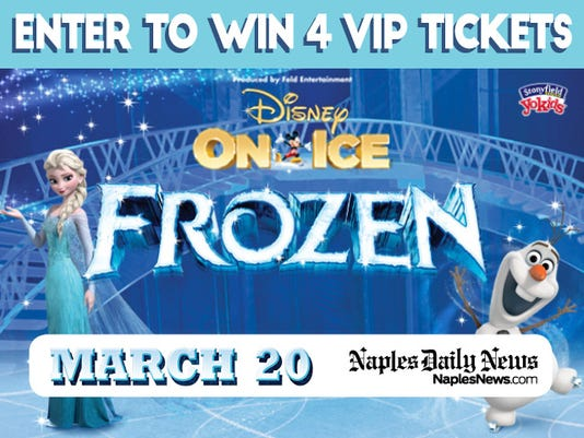 Contest enter our sweepstakes disney on ice presents frozen m4hsunfo