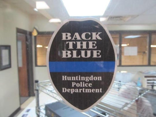 Huntingdon police have a limited number of window clings for anyone who wants to show support for law enforcement. The clings will be given out on a first come, first served basis.
