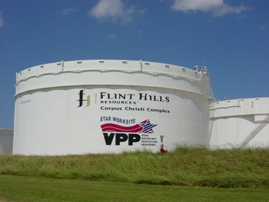 (Caller-Times file) Flint Hills Resources was the focus of ire during an April 25, 2018 Nueces County Commissioners Court meeting because of lawsuits the company has filed protesting its appraisal values.