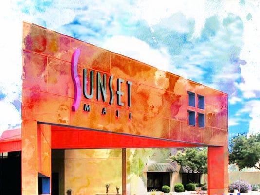 #stockimages-sunset mall