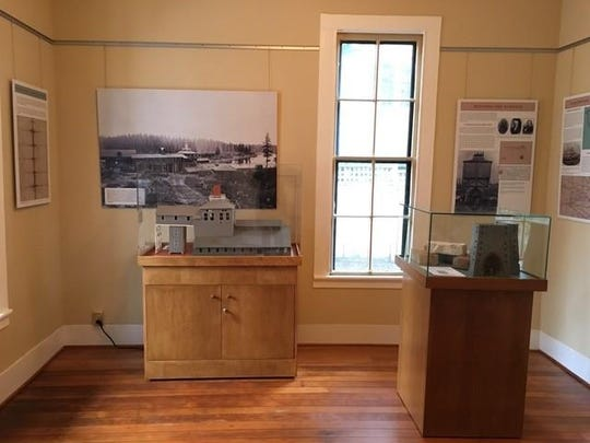 """The History Center & Museum's inaugural exhibit is """"1867 – 2017 Oregon's Iron Jubilee: Celebrating the First Iron Furnace on the Pacific Coast."""""""