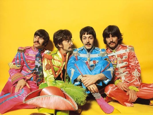Beatles Sgt. Pepper photo AP