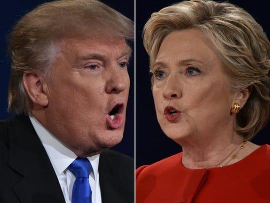 clinton trump debate millennials questions