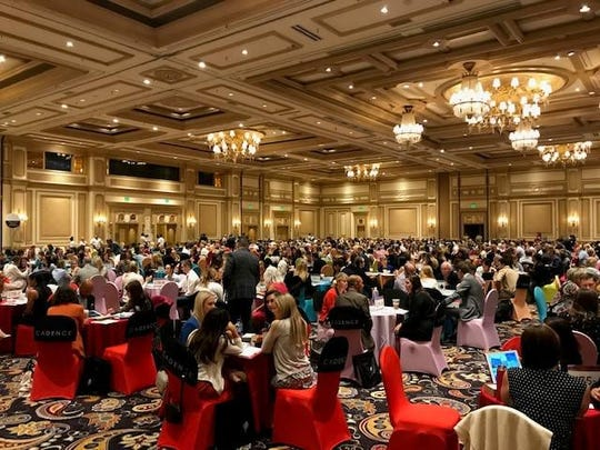 Heart rhythm vs. algorithm: thousands of lifestyle advisors and travel providers collaborated at Virtuoso Travel Week.