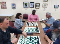 Atlantic County Library/Galloway offered an all-ages chess club, Knights of the Square Table, on Oct. 5 at 306 E. Jimmie Leeds Road. Designed to foster intellectual growth while having fun, the club teaches those players new to the game and encourages all to become better chess players. Future meetings are scheduled for 3 p.m. Nov. 2, 16 and 30. Registration is requested. To register or for information, call (609) 652-2352.