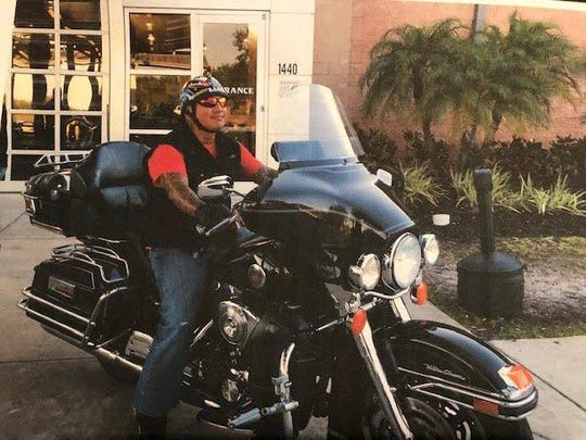 "Robert ""Chico"" Perone died Saturday Aug. 10, 2019, after his motorcycle collided with a Lauderhill police car during a chase in southern Martin County."