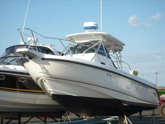 Clarks Landing Marina - Point Pleasant  2003 Boston Whaler 290 Outrage for s.jpg