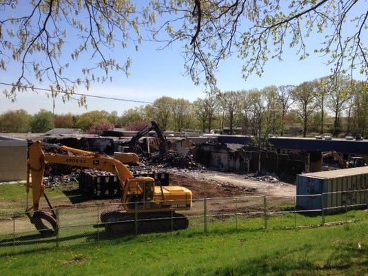 James Monroe School demolition.JPG