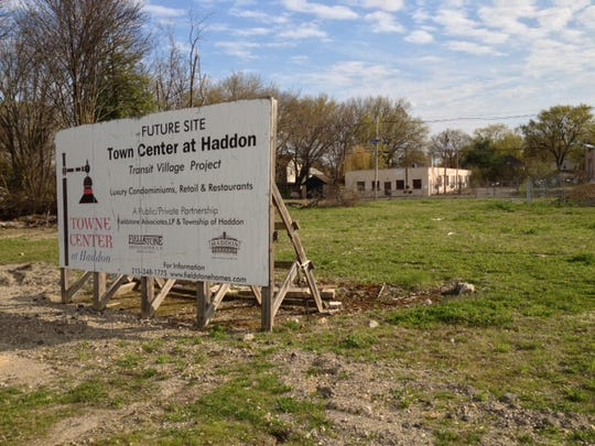 An 8-acre property off Haddon Avenue in Haddon Township is the proposed site of the Towne Center at Haddon redevelopment project.