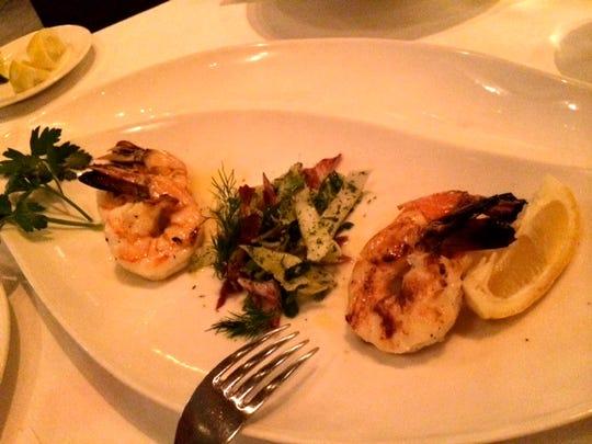 Milos grilled shrimp.JPG