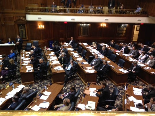 Lawmakers from 33 states met in the Indiana Statehouse to discuss the framework for a constitutional amendment convention.