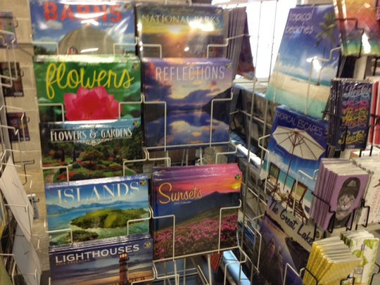 Flowers, sunsets and other nature-themed calendars are always popular. TF Publishing has produced millions of calendars since the company's founding nearly 20 years ago.