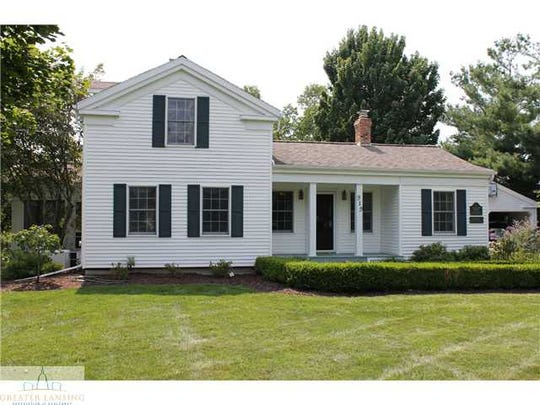 The house at 919 Hagadorn Road is one of the oldest in Ingham County. It was  built in 1854 and moved in the 1970s.