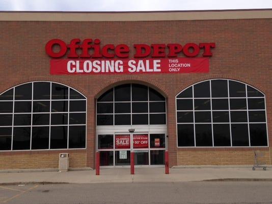 1 cnt office depot closing