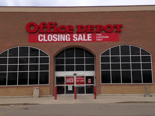 1 cnt office depot closing