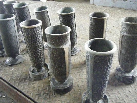 Cemetery vases