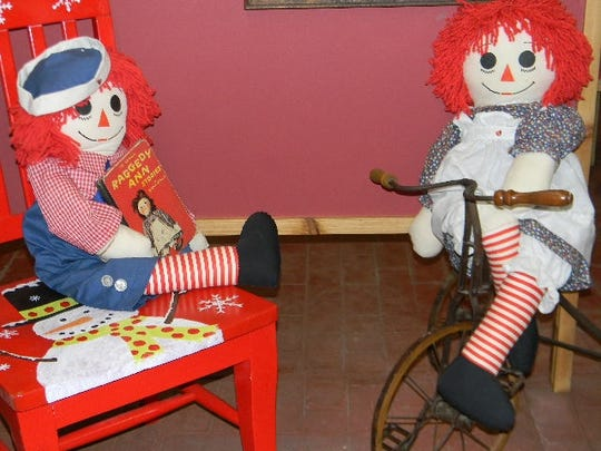 Antique toys can be viewed at Branstiter Museum.
