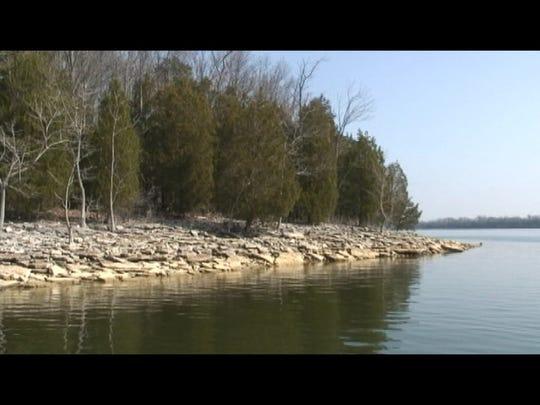 J. Percy Priest Lake, in Nashville.