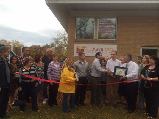 PTC 1021 ribbon cutting