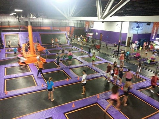 file photo of the interior of altitude trampoline park in south town plaza in henrietta photo provided photo