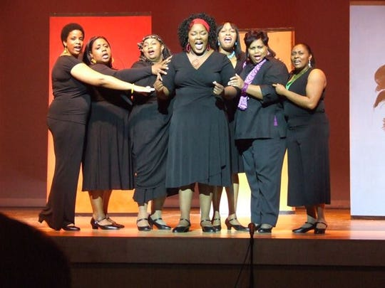 "The Mahogany Ensemble Theatre Company perform ""For"