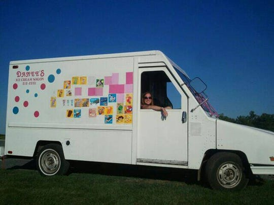 Danee's Ice Cream Wagon
