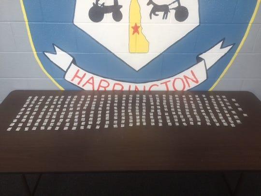 301 bags of heroin