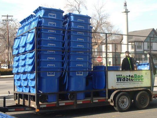 Rutherford trash carts