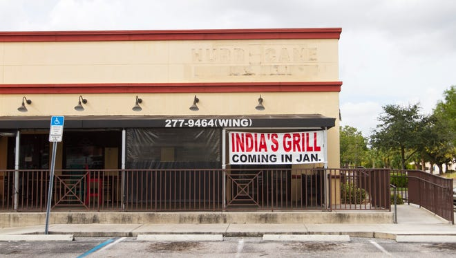 Hurricane Grill and Wings on US 41 recently closed.