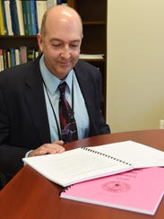 James Fouts, associate public health sanitarian, pictured