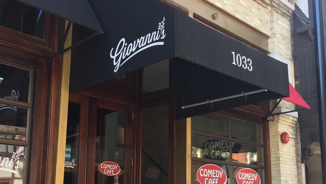 The Italian restaurant Giovanni's, 1033 N. Old World 3rd St., opened downtown in 2015.