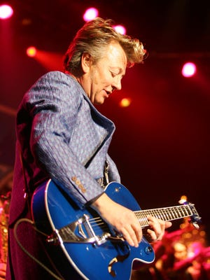 Brian Setzer says his Christmas tour is a nice change of pace from his rockabilly band.