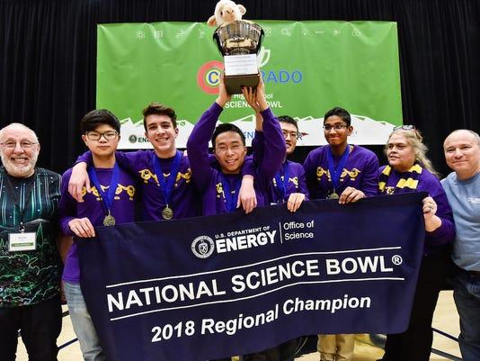 Colorado High School Science Bowl