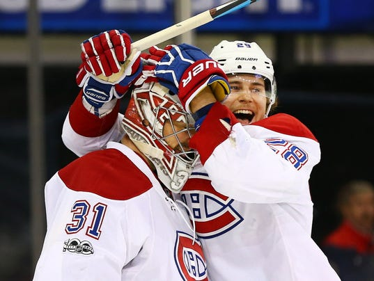 USP NHL: MONTREAL CANADIENS AT NEW YORK RANGERS S HKN NYR MTL USA NY
