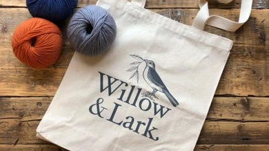 Willow & Lark, LoveKnitting's own brand of yarn, is meant to reflect LoveKnitting's British roots and heritage.