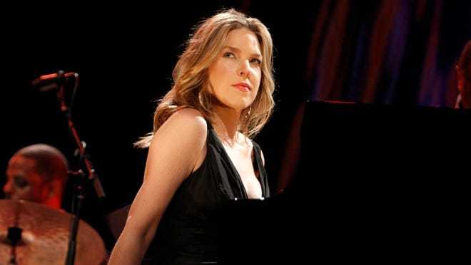 Diana Krall performing in 2012 at the Xerox Rochester International Jazz Festival.