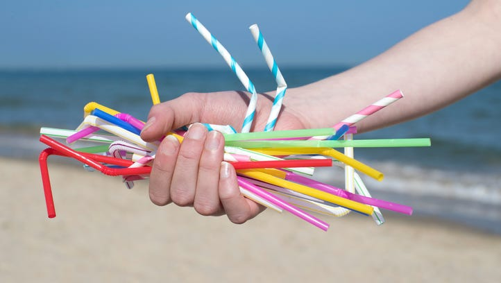 The last straw? Plastic straw bans being pondered by stores worldwide