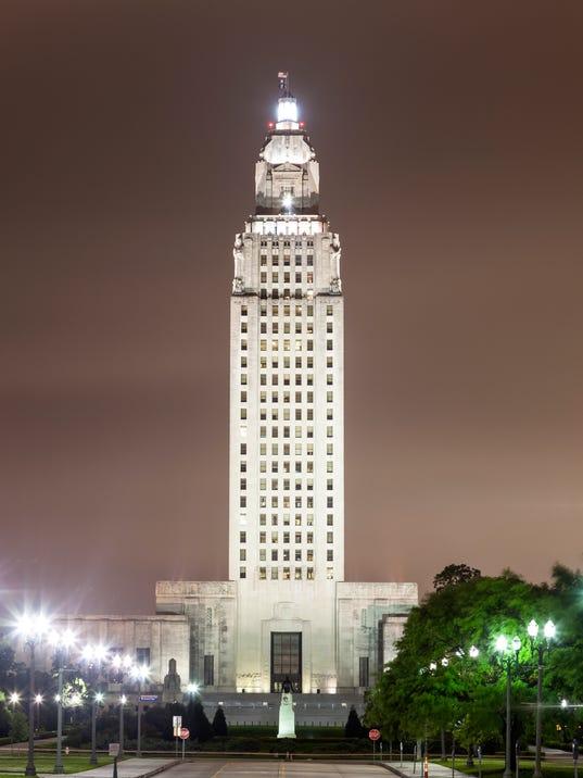 Louisiana State Capitol in Baton Rouge