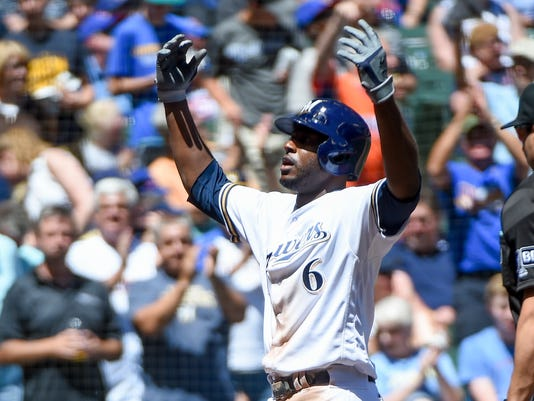 MLB: Chicago Cubs at Milwaukee Brewers