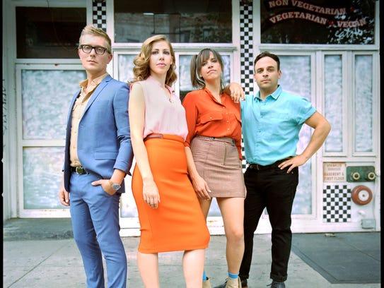 Lake Street Dive is a pop/soul quartet from Brooklyn.