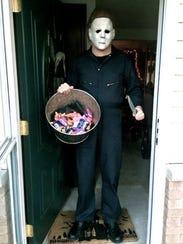 "Adam Krause, director of ""Gags,"" in his favorite Halloween"