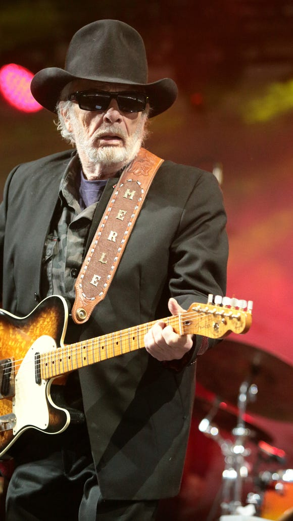 In this June 28, 2015, file photo, Merle Haggard performs